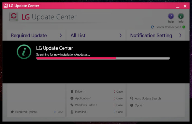 LG Update Center