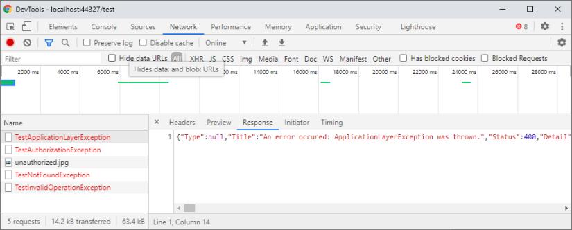 HTTP Response JSON
