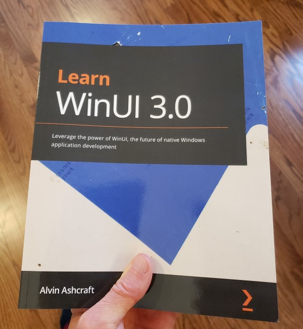 Learn WinUI 3.0 by Alvin Ashcraft