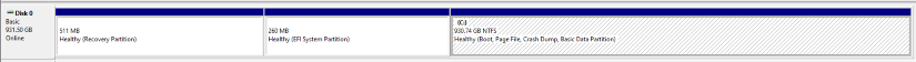 SSD Partitions After Migration